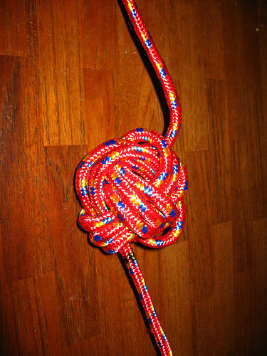 How To Make A Monkey Fist Knot Dog Toy